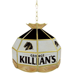 George Killians Stained Glass Tiffany Lamp - 16 inch